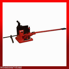 WNS Universal Flat Bar Bender / Metal Former Bend Square Round Angle Steel