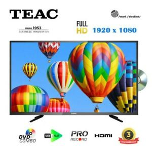 TEAC A1 SERIES 40 inch FHD LED TV with DVD Combo LEV40A121 +3 Year Warranty