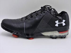 UA Under Armour Spieth 2 Golf Shoes 3000165-001,White,Men's 8,8.5