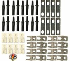 """3/8"""" Rocker Arm Guide Plate Conversion Kit Plates for Dodge Ford (Set of 16)"""