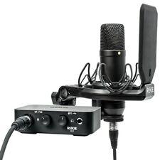 RODE Complete Studio Kit w/ AI-1 Audio Interface & NT1 Microphone Open Box Demo