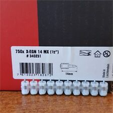 750x HILTI Nägel X-EGN 14MX 14mm Nägel HILTI für GX100 , GX 100-E , GX 120
