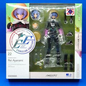 Neon Genesis Evangelion Kaiyodo Revoltech EV-022 Rei Ayanami (3.0-1.0) Figure