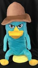 "Agent Perry The Platypus Plush Disney Phineas And Ferb 18"" Pillow Stuffed Animal"