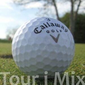 50 CALLAWAY TOUR I MIX LAKEBALLS / GOLFBÄLLE - QUALITÄT AAA / AA