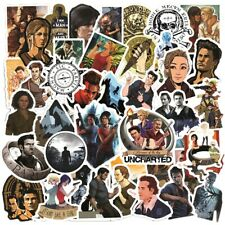 50Pcs Uncharted Game Sticker Pack Play Station 4 5 Skateboard Laptop QUALITY