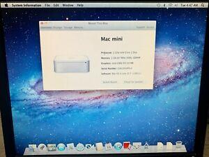 Last Apple Mac Mini 2,2 A1176 2007 Core2Duo C2D 2GB RAM 120GB HDD Computer Lion