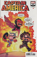 CAPTAIN AMERICA #25 (SKOTTIE YOUNG VARIANT)(2020) Comic ~ Marvel