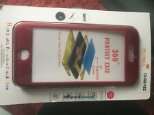 NEW IN PACKAGE iphone 7 case Slim Red 360 Full Protect Protection Great Deal