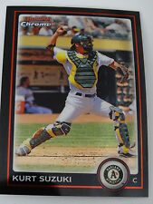 2010 Bowman Chrome #103 Kurt Suzuki Oakland Athletics A's Baseball Card