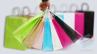 Small Twist Handle Top Quality Paper Bag Party Gift Carrier Bags