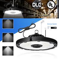 Super Bright Warehouse LED 150W UFO High Bay Lights Factory Shop GYM Work Lamp