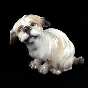 Royal Copenhagen Dahl Jensen Belgian Griffin Dog Figurine #1120 Denmark