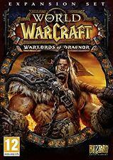 World of Warcraft  Warlords of Draenor  PC Mac  (DVD-ROM)