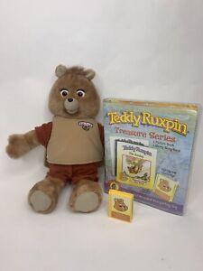Teddy Ruxpin Bear 2006 Talking Electronic w/ Cartridge/Book (Not Working READ)
