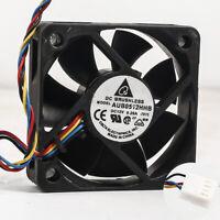 2pcs AUB0512HHB DC12V 0.2A For Delta Server Cooling Fan 50x50x15mm pwm 4Pin
