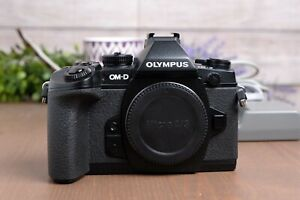 Olympus OM-D E-M1 16.3MP Digital Camera - Black (Body Only) with Batt & Charger