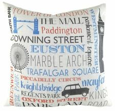 "17"" London England UK Locations Cushion Evans Lichfield DPA678 43cm"
