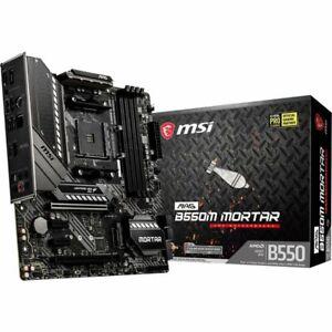 PLACA BASE MSI MAG B550M MORTAR Micro-ATX Socket AMD AM4