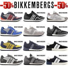 BIKKEMBERGS offerta sneakers uomo basse scarpe sportive casual comode con lacci