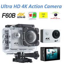 F60B 4K 1080P 170 ° HD WiFi Underwater Sports Action Video Camera DV Camcorder