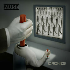 """MUSE """"DRONES"""" 2LP + CD+ DVD + PRINT  SUPER DELUXE BOX SET NEUF - NEW"""