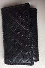 NIB Authentic Gucci 250469 Diamante 6-Ring Key Case, Color Black W/G. Receipt