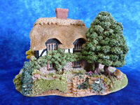 LILLIPUT LANE Honeysuckle Cottage 1992 Tenth Anniversary Commemorative Ornament