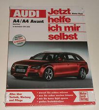 Repair Manual Audi A4 + A 4 Avant Type B8 Gasoline, from Year 2007