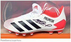 Steven Gerrard Hand Signed Predator Football Boot £99