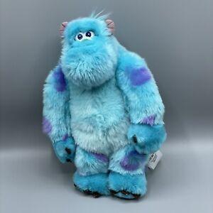 """Disney Monsters Inc 13"""" Sully Plush Blue Monster Monsters University"""