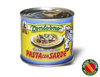 12 pz X Condimento pasta con sarde lattina da 240gr 100% Sicilia