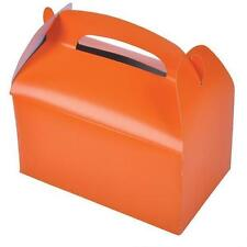 36 ORANGE COLOR TREAT BOXES Birthday Party Loot Goody Bags #ST22 FREE SHIPPING