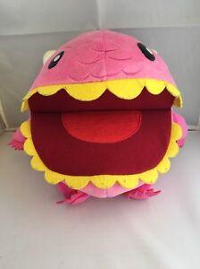 MONSTAHH ! Soft Toy Sega Pink Friendly Monsters Plush Vintage