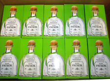 5 Patron Empty Bottles w/ Corks Boxes Tags 750ml Silver Tequila Free shipping