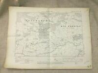 1910 Antique Map of East Sussex Peasmarsh Park Rye Foreign Tillingham Level