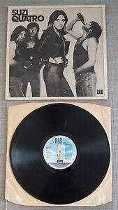 SUZI QUATRO-SUZI QUATRO-ORIGINAL UK ISSUE LP ON RAK/EMI RECORDS-1973-GOOD.COND