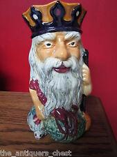 Crown Devon Shorter Staffordshite England Father Neptune Character Toby