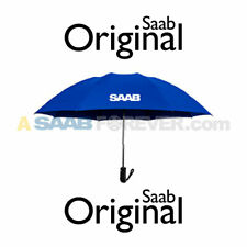 NEW GENUINE SAAB UMBRELLA BLUE SAAB LOGO SAAB ACCESSORY GIFT