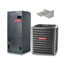 Goodman 3.0 Ton 18 SEER Two Stage Heat Pump System GSZC180361, AVPTC37C14