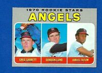 1970 TOPPS #642 ANGELS ROOKIE STARS HIGH NUMBER EX-MT +  NO CREASE