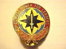 US Military Communications Electronics Command Pin Clutchback Crest Medal G506