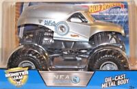 Hot Wheels Monster Jam N.E.A. Police Car Silver 1:24 Scale New 3+ cgd64