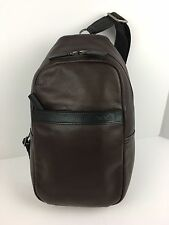 TUMI 069718CHO2 Berkshire Sling Carry All Unisex Leather Chocolate  NWT