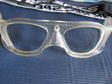 NOS Liberty Sport Rec Specs Fusion Halo Clear Rx Sport Goggles Frames 53[]17 USA