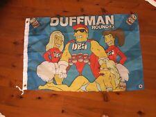Duffman Simpson Poster Mancave flag poster wild shit USA  print garage flag art