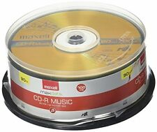Maxell Music 32x 80 minute / 700MB CD-R Media for Audio - 30 Pack Spindle 625335