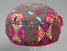 hand embroidered Women's Caps and Ceremonial Headdress Gilgit-Baltistan No:21/J