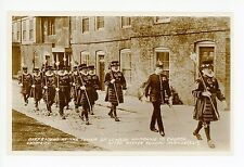 "Beefeaters at Tower of London ""Marching to Church"" RPPC Easter Sunday Real Photo"