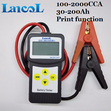 Digital Auto Car Battery Load Tester 12V Battery Analyzer with USB for printing